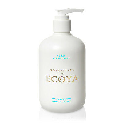 NEW Ecoya Botanicals Body Wash Coral & Narcissus