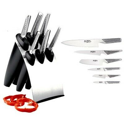 New Global Millennium Knife Block 7 Piece