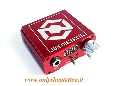 ALIMENTATORE TATTOO NEMESIS POWER SUPPLY - RED - by KWADRON