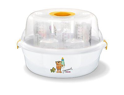 Beurer JBY40 Conventional Baby Bottles Microwave Steam Steriliser | BRAND NEW