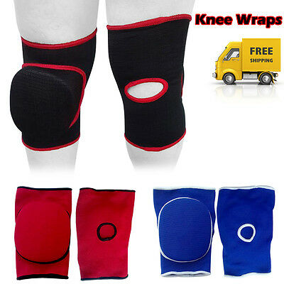 PFG Knee Pads Caps Protector Brace Support Volleyball Guards Muay Thai