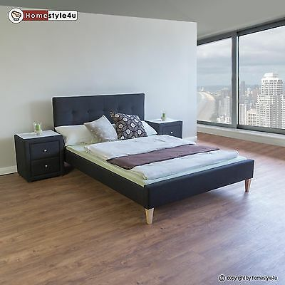 cadres de lit lits coffres lits matelas meubles maison items picclick fr. Black Bedroom Furniture Sets. Home Design Ideas
