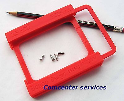 2.5 to 3.5 Adapter Bracket SSD HDD Notebook Mounting Tray Caddy Bay ACOZ