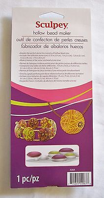 SCULPEY - Polymer Clay - For Beads & Jewellery - SCULPEY HOLLOW BEAD MAKER