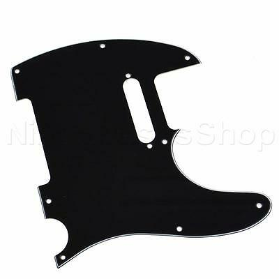 Electric Guitar Pickguard Scratchplate for TL Telecaster Guitar 3 Ply Black