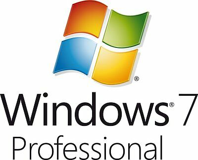 Windows 7 Professional 32/64bit License (Original Genuine Product Key)