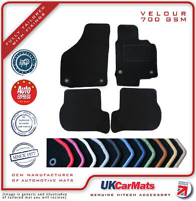 Genuine Hitech Mitsubishi Outlander Phev Tailored Velour Carpet Car Mats 2014-
