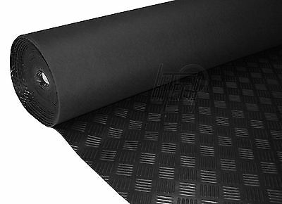 Genuine Hitech Chequered Rubber Sheet / Floor Matting 1.2m
