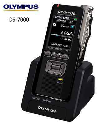 Olympus Ds-7000 Digital Voice Recorder / Ds7000 Dictaphone 2 Year Warranty New