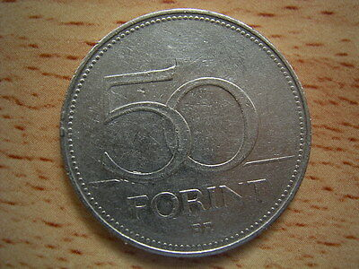 1995 Hungary  50 forint Coin Collectable