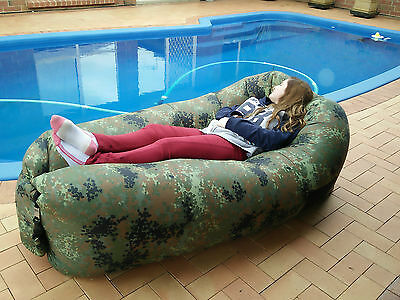 Air bed Inflatable Hangout Lounge  Camping Gear Beach Christmas gift