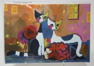 Glasses Cleaning Cloth / Microfiber Cloth Cat Rosina Wachtmeister Village People
