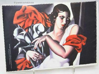 Glasses cleaning cloth / Microfiber Art Deco Tamara Lempicka Portrait of Ira P