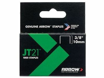 Arrow - JT21 T27 Staples 10mm (3/8in) Box 1000