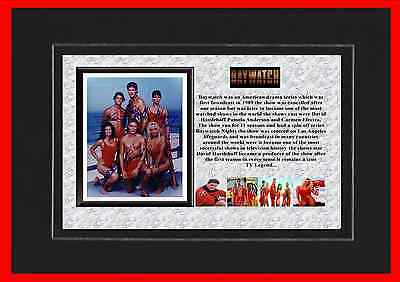 Baywatch Tv Mounted Display