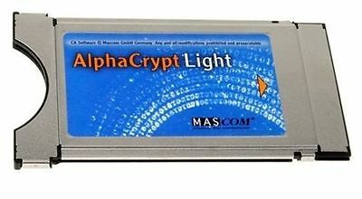 Mascom Alphacrypt Light CI CI+ Modul Version R2.2 sofort Einsatzbereit One4All
