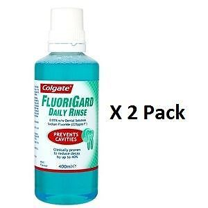 Colgate Fluorigard Daily Rinse 400ml x 2 Pack