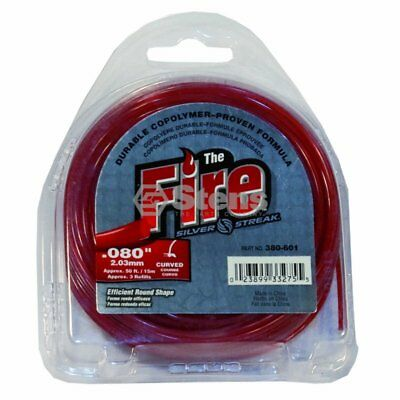 Fire Trimmer Line / .080 50' Clam Shell