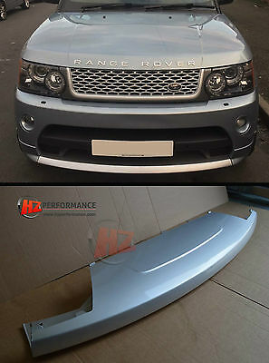 Front Lower Gloss Silver Lip Range Rover Sport Autobiography Front Bumper
