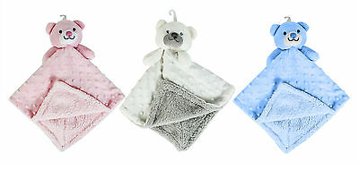 Soft Double Sided Baby Comforter Blanket Soother New Born Babies