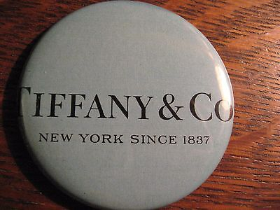 Tiffany & Co. Pocket Mirror - Repurposed Magazine Ad Blue Logo Lipstick Mirror