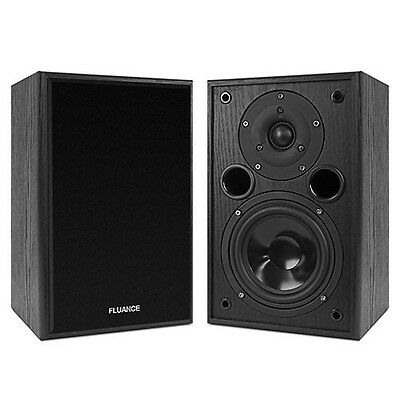 Fluance AV5 Powerful Two-way Bookshelf Speakers for Home Theater & Music Systems