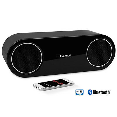 Fluance FI30 High Performance Wireless Bluetooth Speaker System (Piano Black)