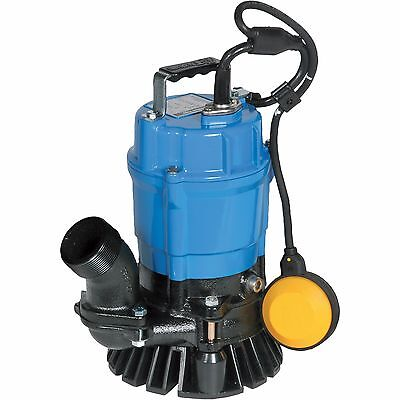"Tsurumi Hsz2-4S 2"" Electric Automatic Submersible Trash Pump 3120Gph 1/2Hp"