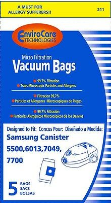 5 Bissell 203-2026 VP-77 ProPartner Plus vacbags