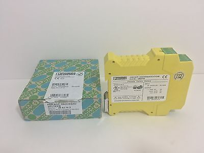 New! Phoenix Contact Safety Relay Psr-Scp-24Uc/esa4/3X1/1X2/b 2963763