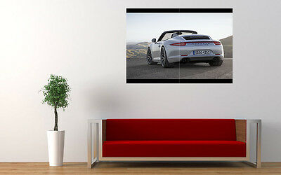 "2015 PORSCHE 911 CARRERA GTS 4 LARGE ART PRINT POSTER PICTURE WALL 33.1""x23.4"""