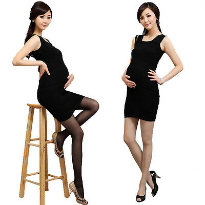 Ladies Maternity Pregnancy Trendy Legging Support Tummy High Waist Stockings