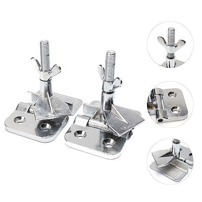 2 pcs Silk Screen Printing Butterfly Frame Hinge Clamp DIY Accessary Tool
