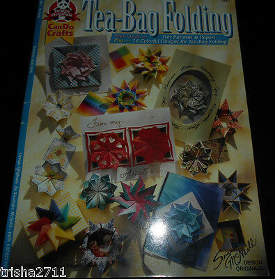 Tea Bag Book - With Free Speciality Sheets! Lovely