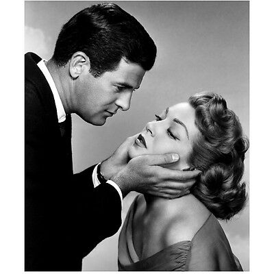Lana Turner Getting Face Held by Man 8 x 10 Inch Photo