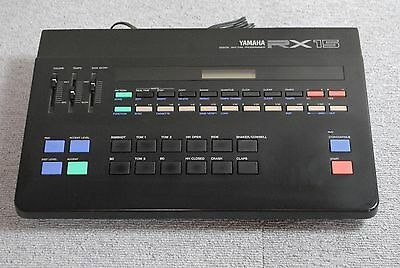 YAMAHA RX15 Digital Rhythm Programmer Drum Machine made in japan Vintage