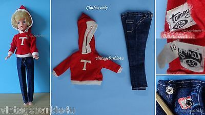 Vintage Tammy Doll Beau and Arrow #9117-3 Tagged PIT TM Ideal Japan
