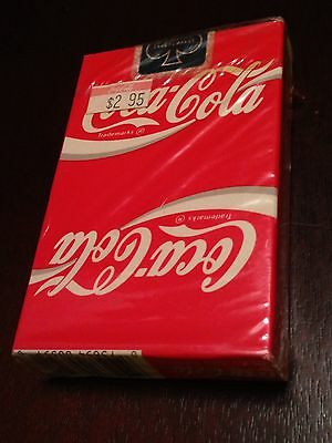 Coca-Cola Vintage Playing Cards SEALED DECK COKE! Classic Red & White Logo