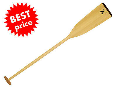 Traditional Wooden Pine Mahogany Dragon Boat Paddle STORK Canoe Canadian - GLS