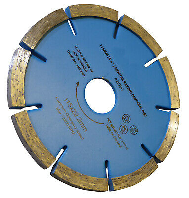 Joint Raking Raker Diamond Grinding Disc Mortar Removal