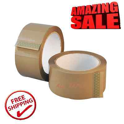 Packing Packaging Buff Box Sealing Strong Big Rolls Of Brown Tape  48Mm X66M