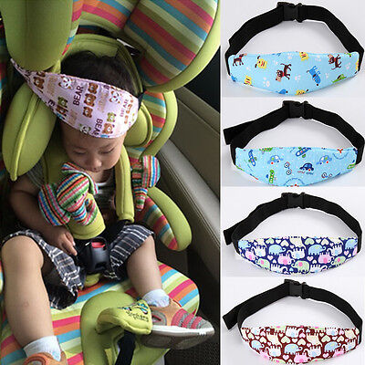 Kids Safety Car Seat Sleep Nap Baby Head Position Support Holder Protector Belt