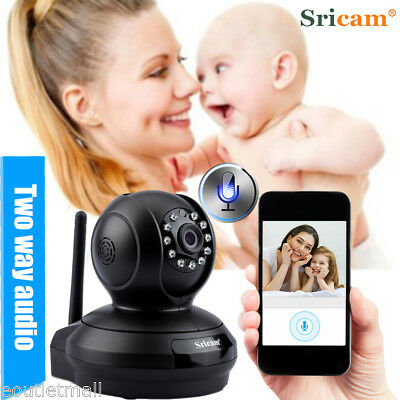 Wireless 2-Way Audio Video Baby Monitor Camera HD 1080P Night Vision Pan/Title