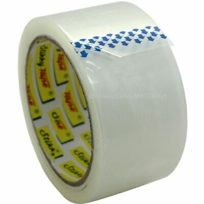 Clear  Strong Packing 48Mm X 66M Great Quality Carton Sealing Sticky Tape