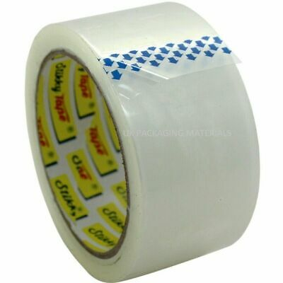 Rolls Of Strong Clear Parcel Packing Packaging Carton Sealing Tape 48Mm X 66M