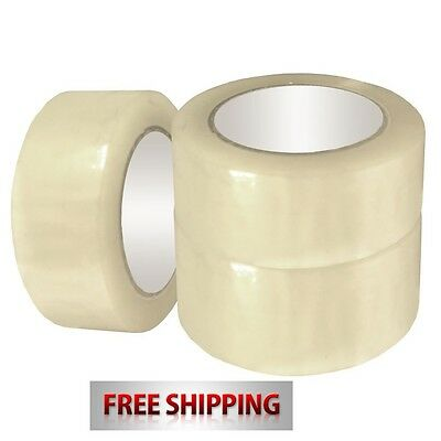 Strong Parcel Packaging Packing Carton Sealing Clear Strong Rolls 48Mm X 66M