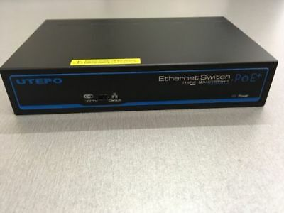 Utepo - UTP3-SW04-TP60-A1 4 Ports PoE Switch for IP Video Surveillance