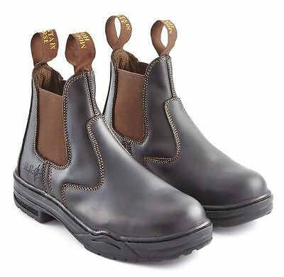 Mountain Horse Protective Jodhpur Boot - Steel Toe Cap Yard Boots