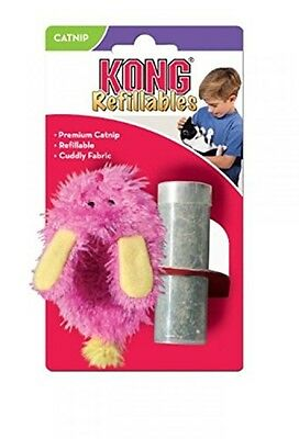 KONG Refillable Catnip Fuzzy Slipper Ideal Plush Soft Pet Cat Play Fun Game Toy