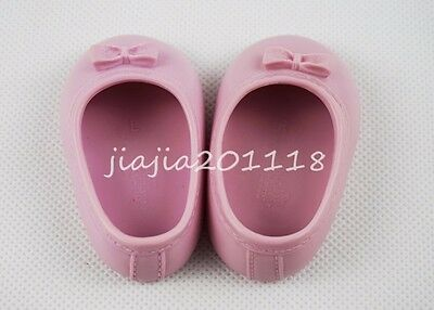 New Pink Bow Princess Shoes Footwear Fit For 18'' American Girl Dolls Gifts